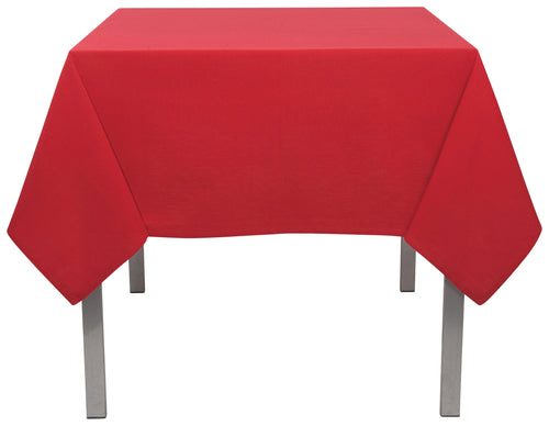 Chili Red Cotton 60 x 108 Tablecloth