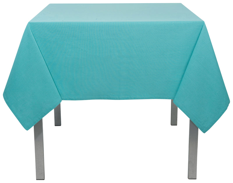 Turquoise Cotton 60 x 108 Tablecloth