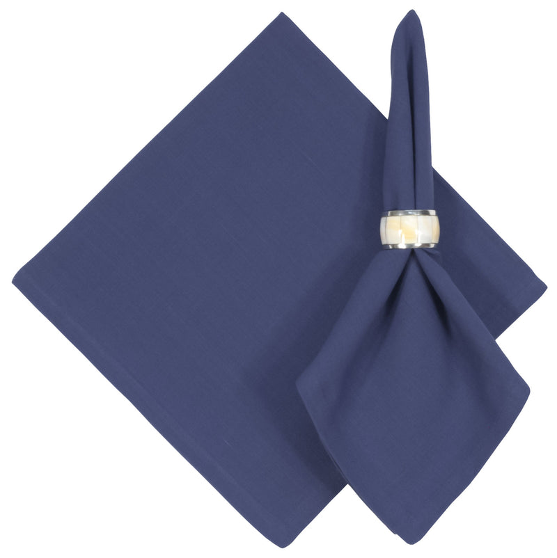 Darker True Blue Cotton Napkin