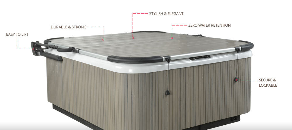 Smartop Spa Cover - Jacuzzi-producten.nl