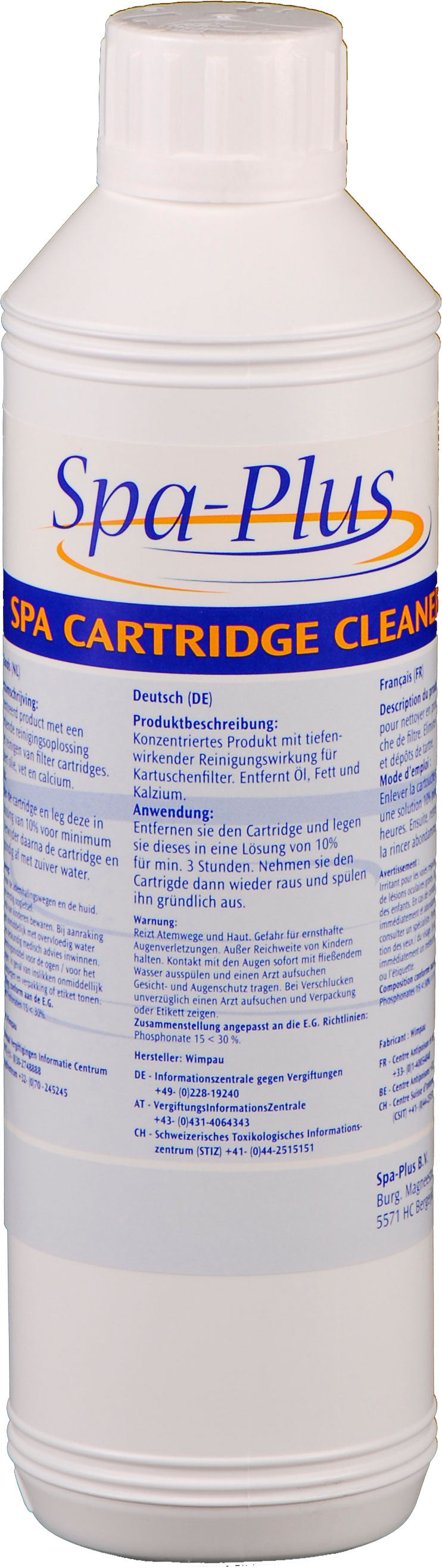 Spa Cartridge Cleaner - Jacuzzi-producten.nl