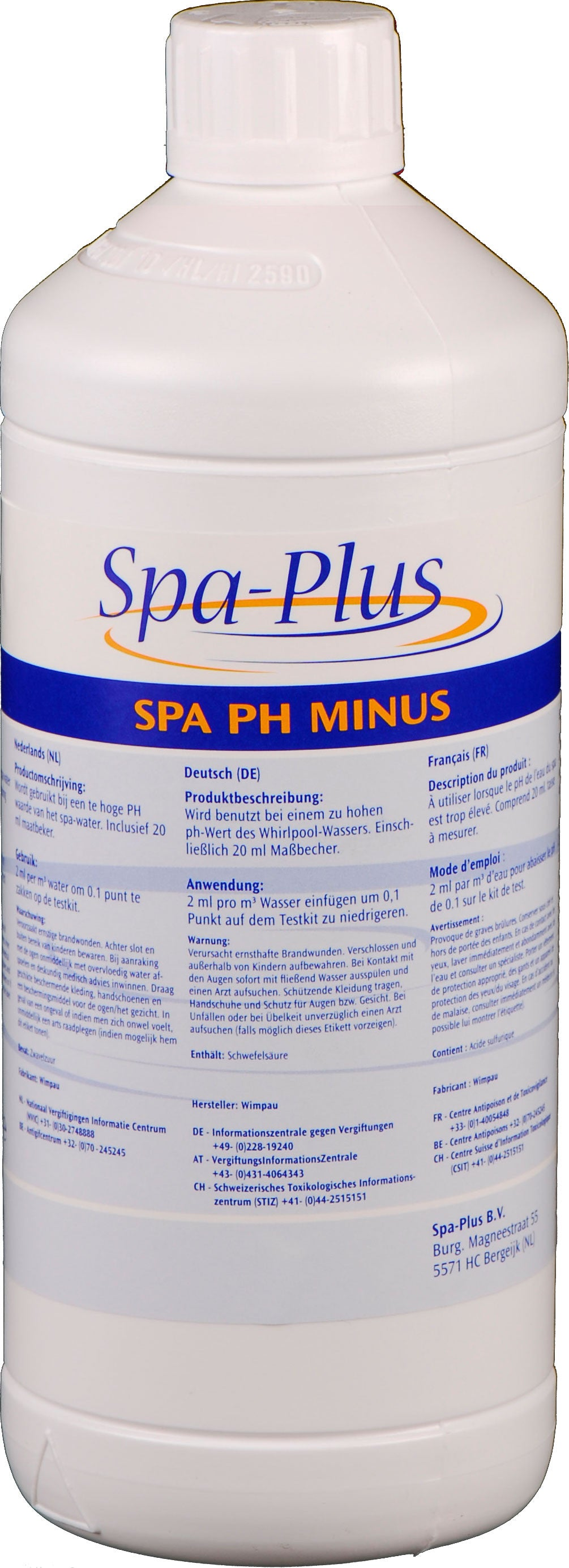 Spa pH Minus - Jacuzzi-producten.nl