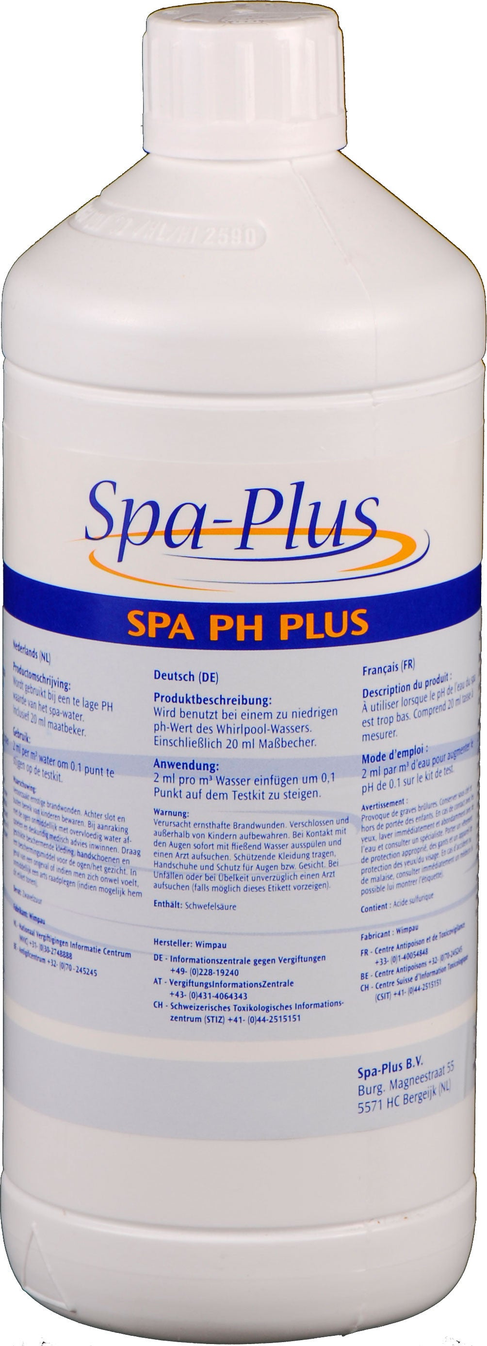 Spa pH Plus - Jacuzzi-producten.nl