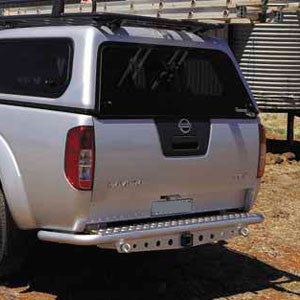 ARB Rear Step Bumper For Nissan Frontier 2005 17 (3638030)