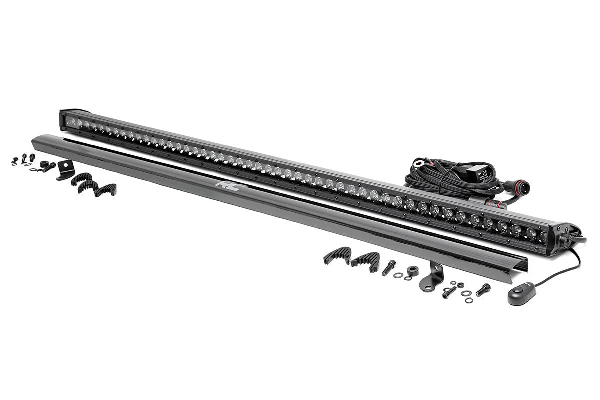 50 inch straight cree led light bar single row black series 50 inch straight cree led light bar single row black series mozeypictures Gallery