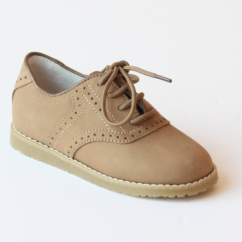 L'Amour Nubuck Oxford Saddle Shoes Nantucket Kids