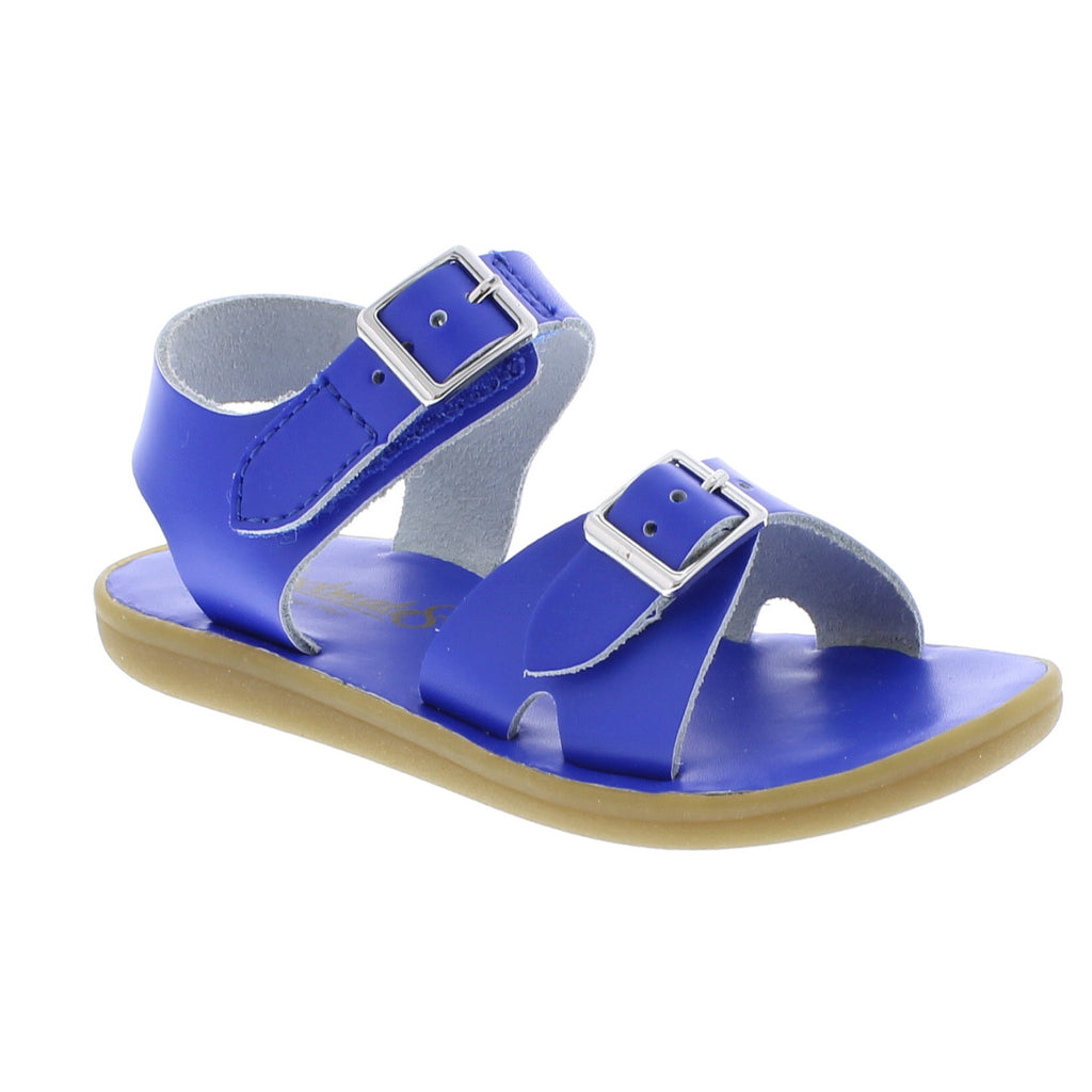 FootMates Tide Sandals-Royal