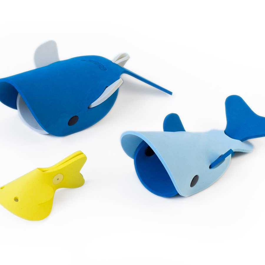 Deep Sea Whales Bath Toy