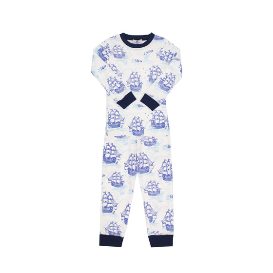 Tall Ships Pima Jammies-2 Piece Set