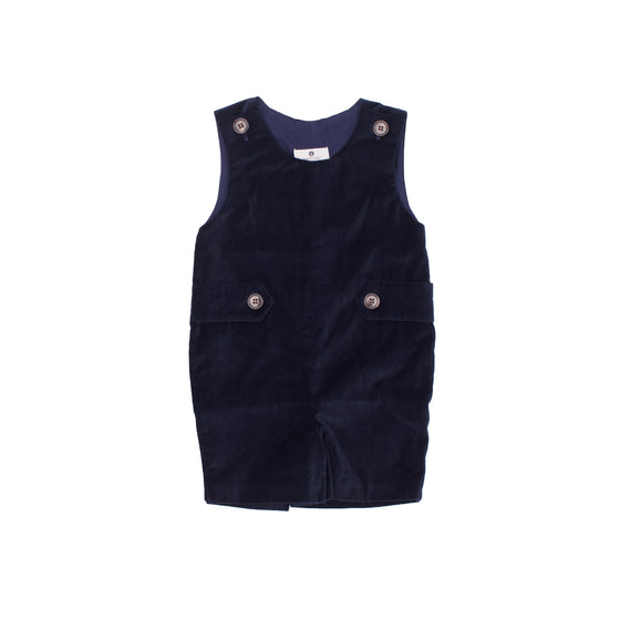 Kennedy Jon Jon-Nautical Navy Velveteen