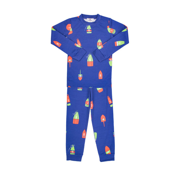 12 Buoys of Christmas Pima Jammies-2 Piece Set