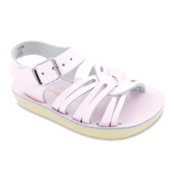 Sun-San® Strappy Sandals-Shiny Pink