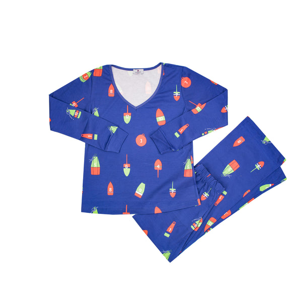 Women's 12 Buoys of Christmas Pajamas