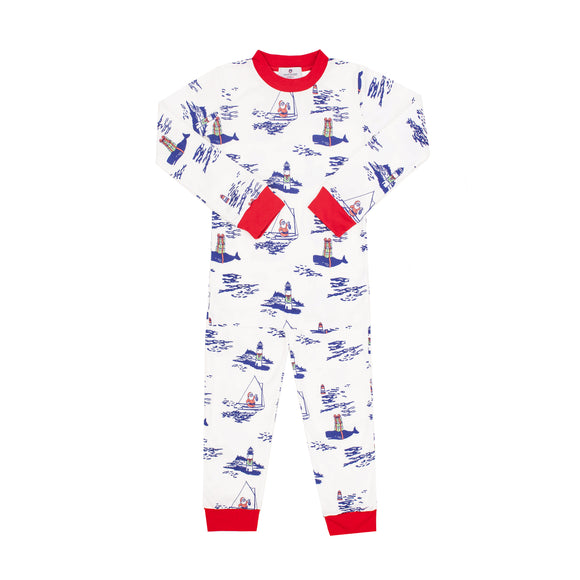 Santa's Coming to Town Pima Jammies 2-Piece Set