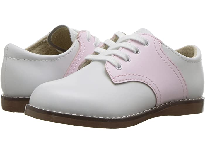 FootMates Cheer Oxford-Classic White & Rose