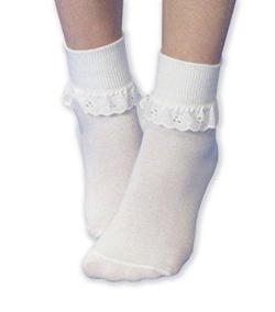 Eyelet Ankle Socks