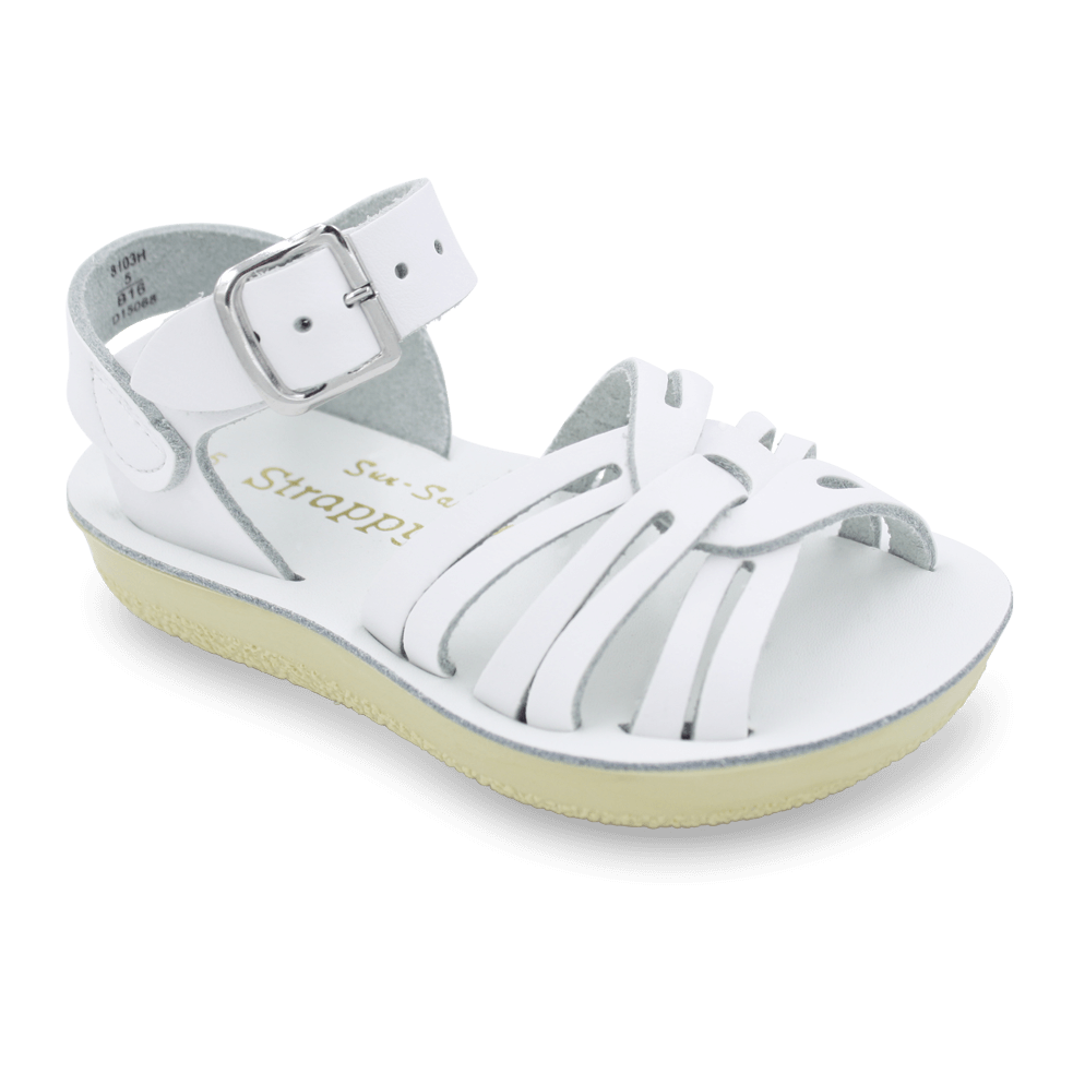 Sun-San® Strappy Sandals-Classic White