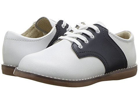 FootMates Cheer Oxford-Classic White & Nautical Navy