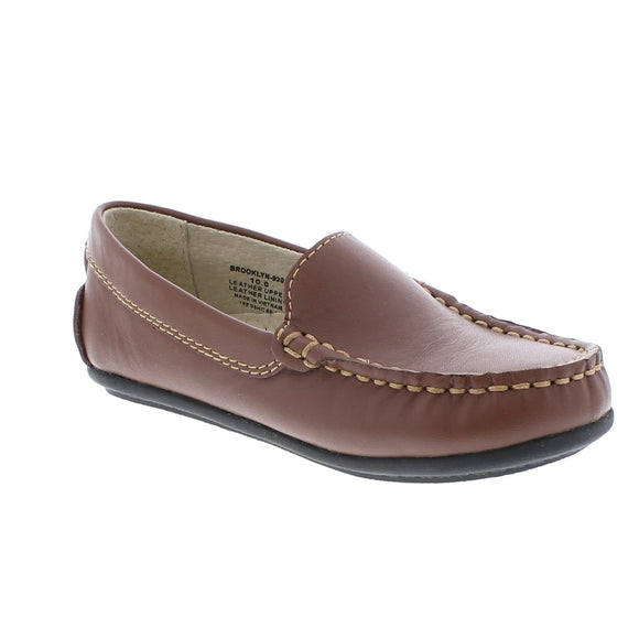 FootMates Brooklyn Loafer-Cognac