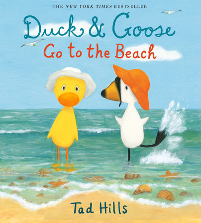 Duck & Goose Go to the Beach Book