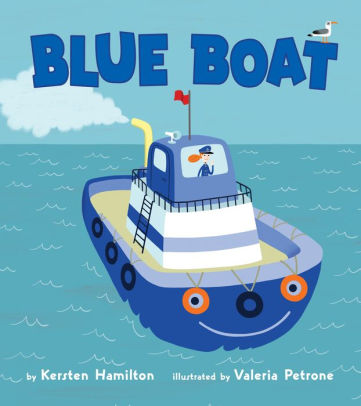 Blue Boat Board Book