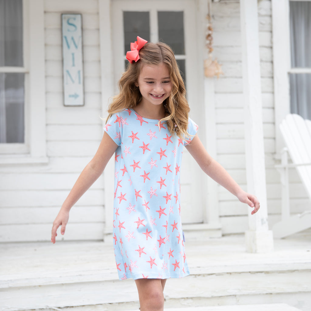 Starfish Pima Play Dress