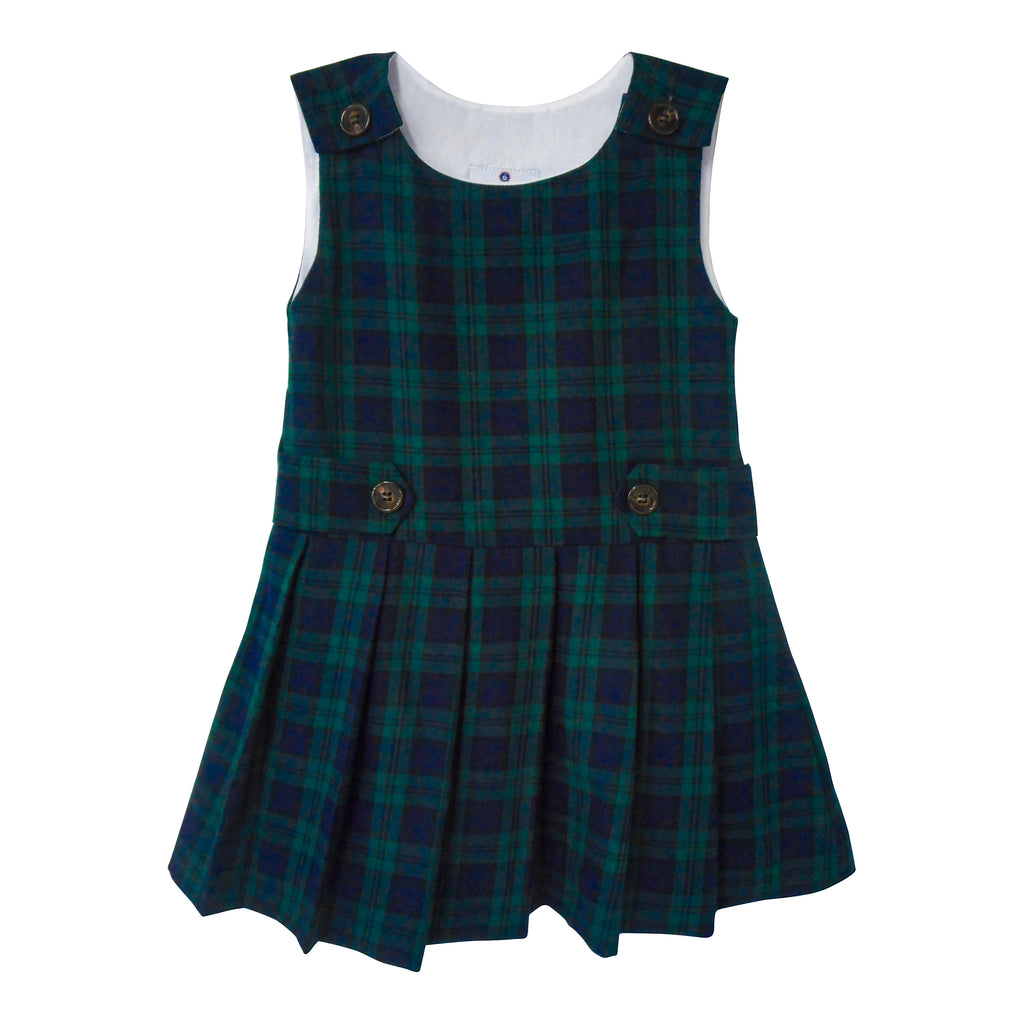 Pleated Tartan Jumper