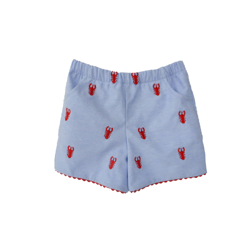 New England Lobster Shorts (Girls)