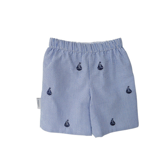 Set Sail Seersucker Shorts