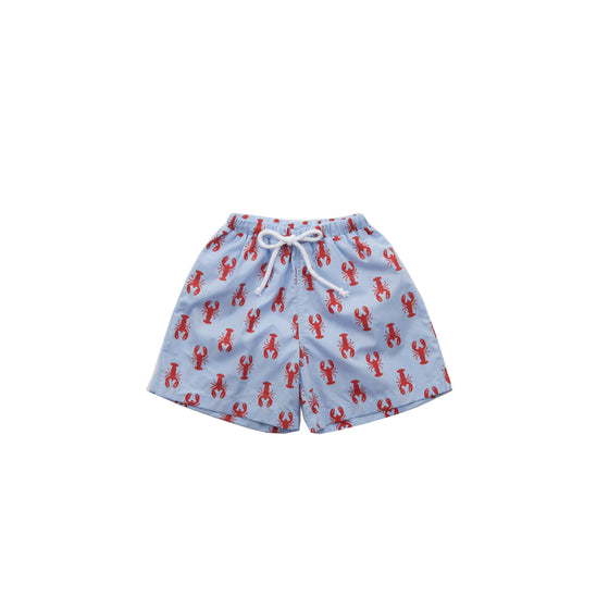 New England Lobster Swim Trunks