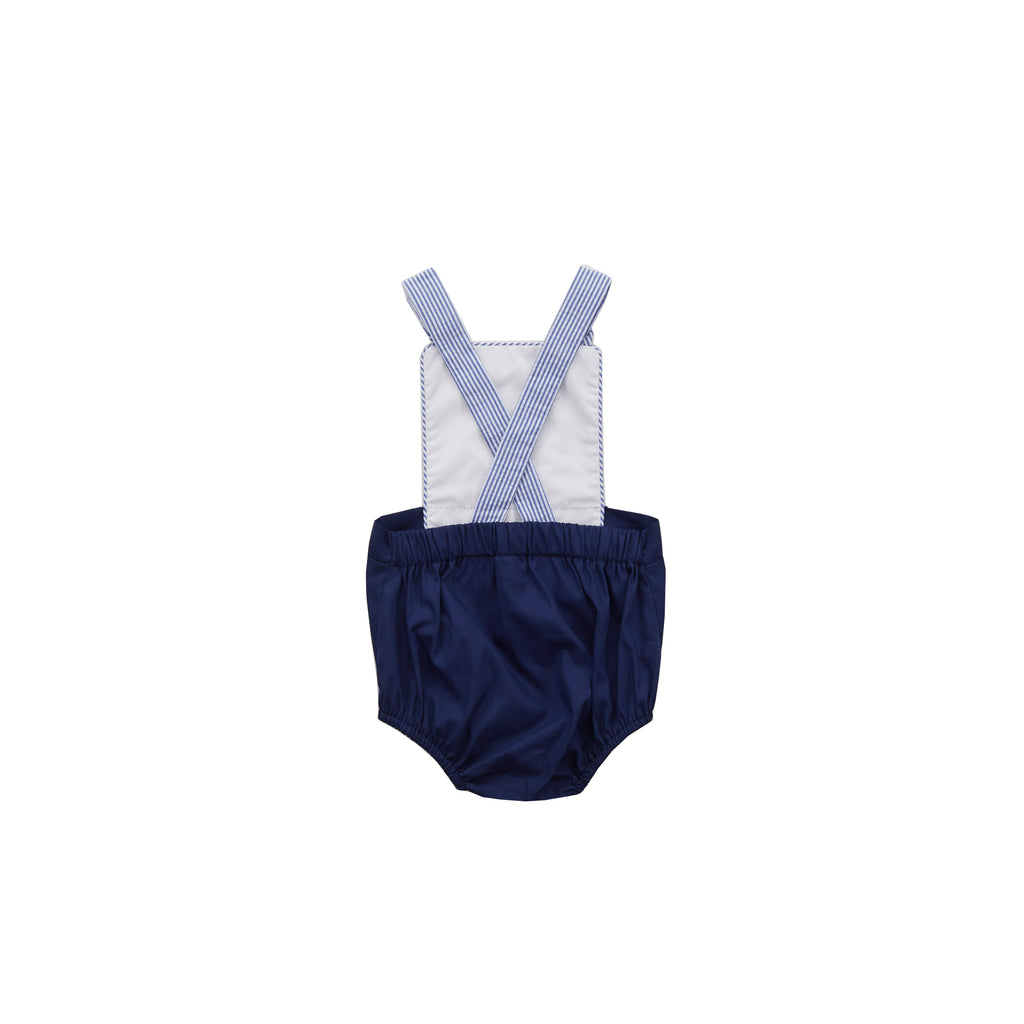 Sampson Sunsuit-Nautical Navy