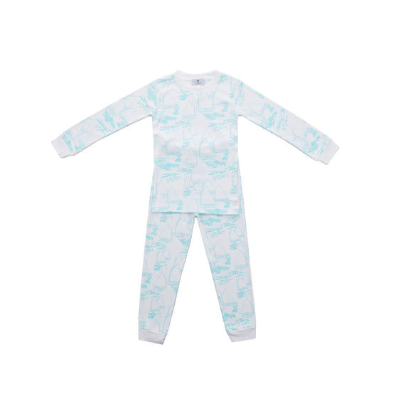 Atlantic Cup Pima Jammies 2-Piece Set