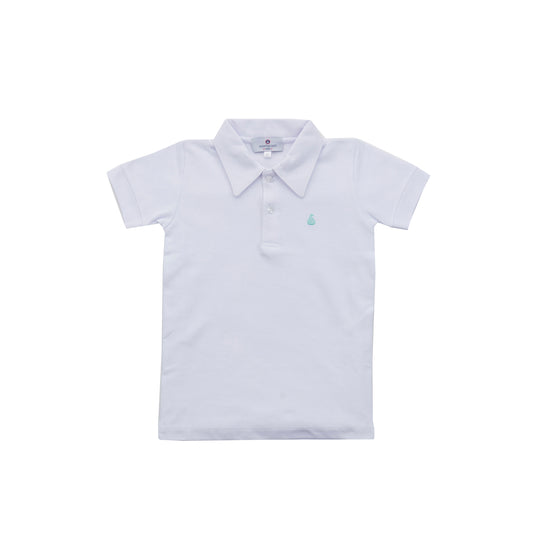 Set Sail Pique Polo-Classic White