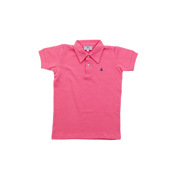 Set Sail Pique Polo-Watermelon