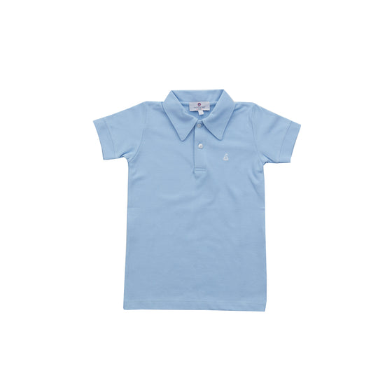 Set Sail Pique Polo-Chatham Bars Blue