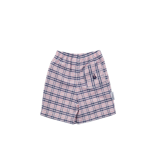 Elton Shorts-Nantucket Kids Check