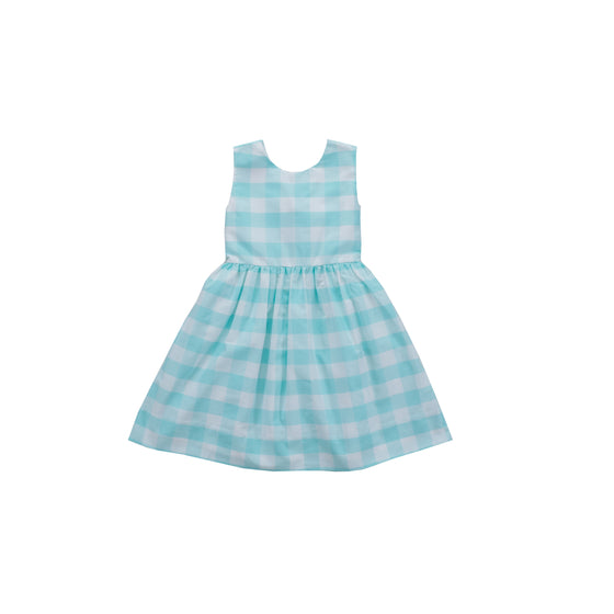 Jetties Dress-Aqua