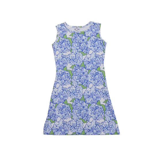 Women's Hydrangeas in Bloom Pima Dress