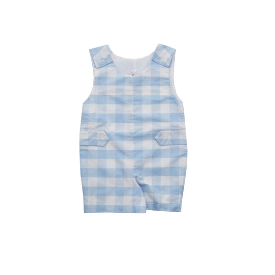 Kennedy Jon Jon-Chatham Bars Blue Gingham