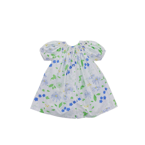 Daisy Hand Smocked Dress