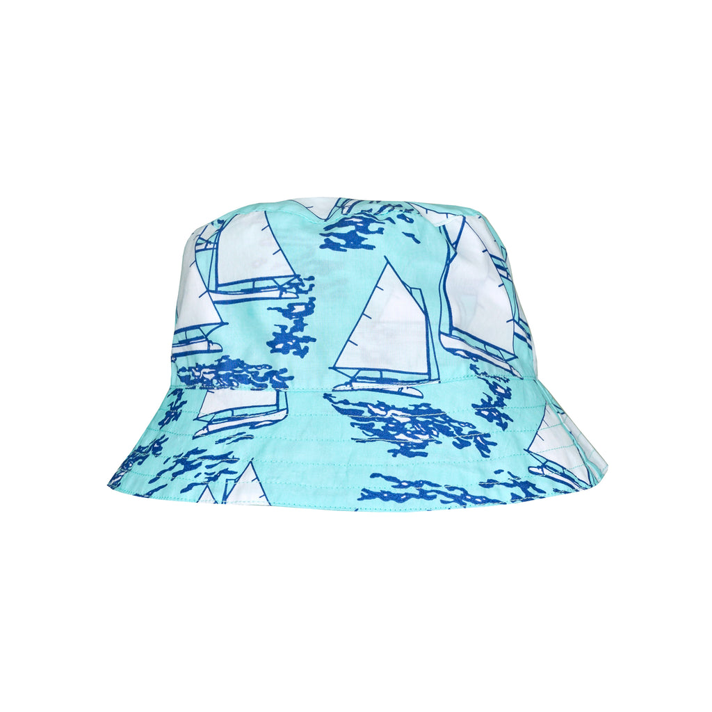 New England Bucket Hat-Atlantic Cup Aqua