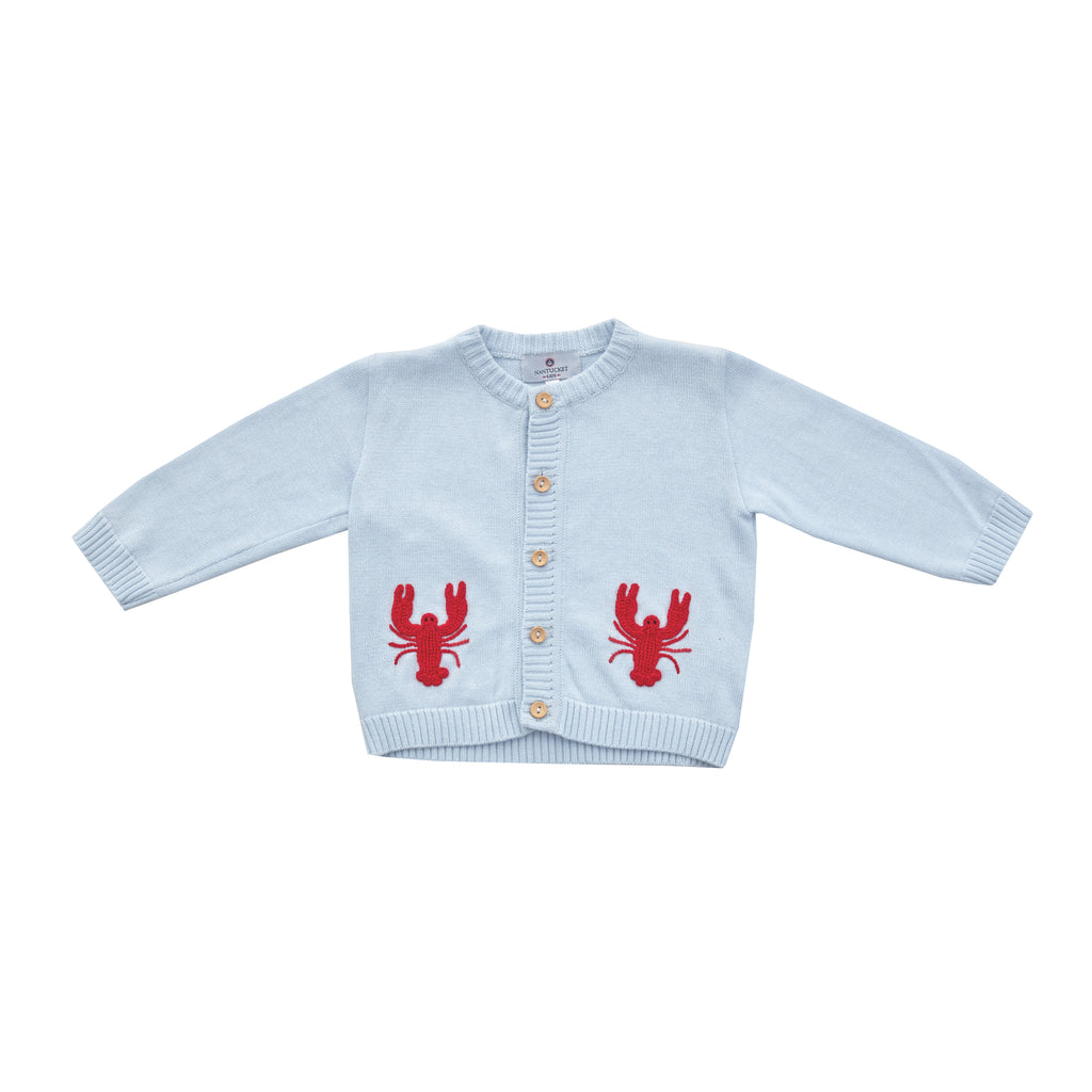 New England Lobster Pima Cardigan