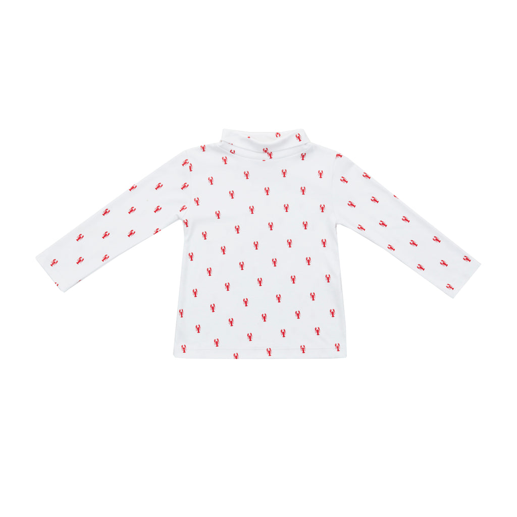New England Lobster Pima Turtleneck