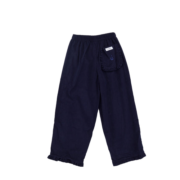 Girl's Prep Pants-Nautical Navy