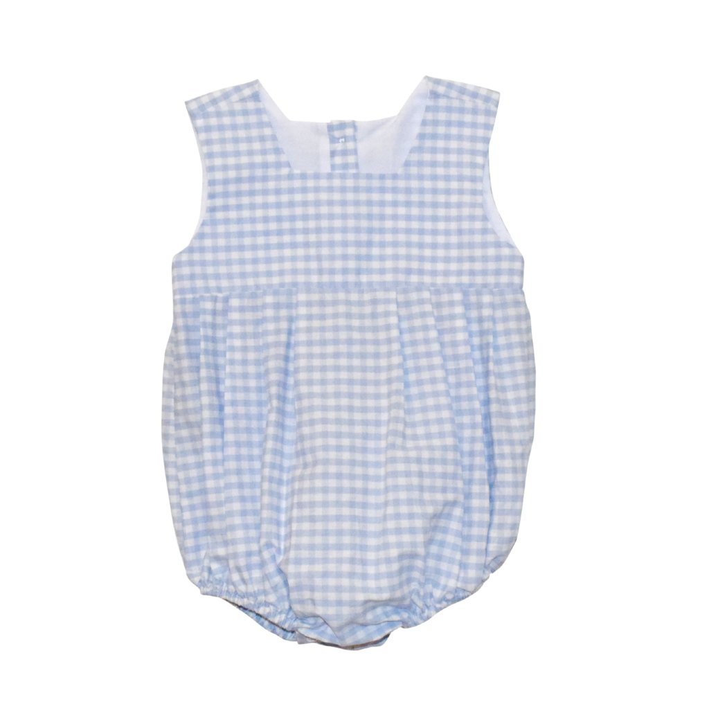 Harbor Bubble-Blue Gingham