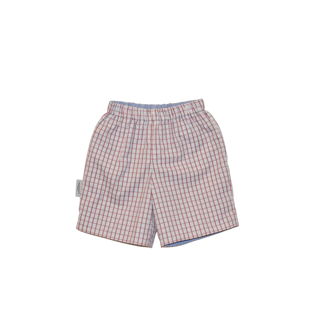 Preston Reversible Shorts-Americana Check/Chambray