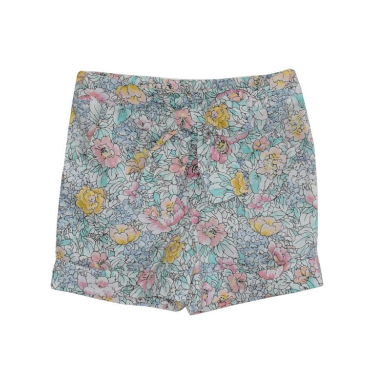 Peyton Play Shorts-English Garden