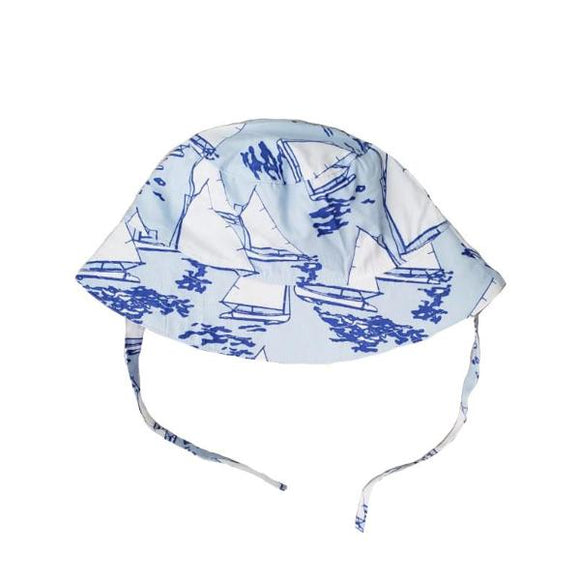 Atlantic Cup Bucket Hat-Blue