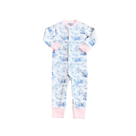 Nantucket Toile 1-Piece