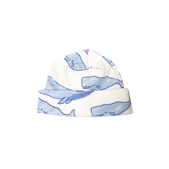 Watercolor Whales Take Me Home Hat